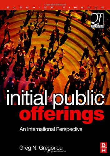 9780750679756: Initial Public Offerings (IPO): An International Perspective of IPOs (Quantitative Finance)