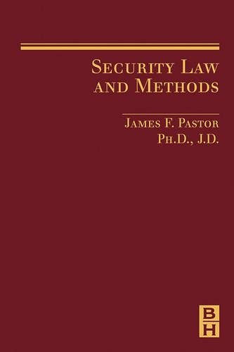 9780750679947: Security Law and Methods