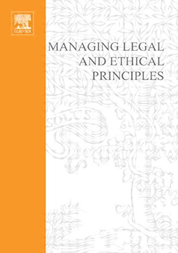 9780750680219: Managing Legal and Ethical Principles: Management Extra