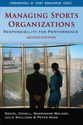 9780750682381: Managing Sports Organizations, Second Edition: Responsibility for Performance (Fundamentals of Sport Management)