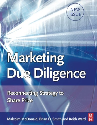 9780750683425: Marketing Due Dilligence: Reconnecting Strategy to Share Price