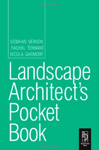 9780750683487: Landscape Architect's Pocket Book (Routledge Pocket Books)