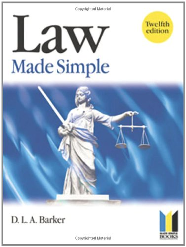9780750684941: Law Made Simple (Made Simple Series)