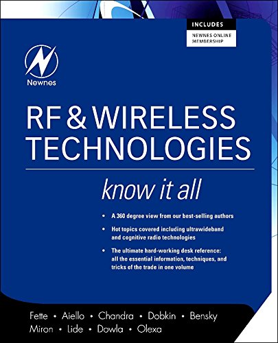 9780750685818: RF and Wireless Technologies: Know It All (Newnes Know It All)