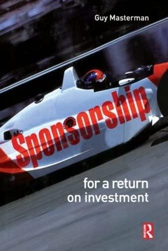 9780750686402: Sponsorship: For a Return on Investment