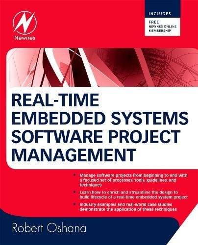 9780750686723: Real-Time Embedded Systems Software Project Management