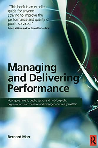 9780750687102: Managing and Delivering Performance