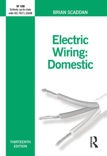 9780750687355: Electric Wiring for Domestic Installers (Electric Wiring: Domestic)