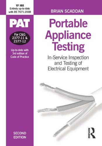9780750687362: PAT: Portable Appliance Testing, Second Edition: In-Service Inspection and Testing of Electrical Equipment