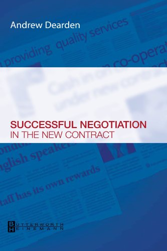 9780750688215: Successful Negotiation in the New Contracts, 1e