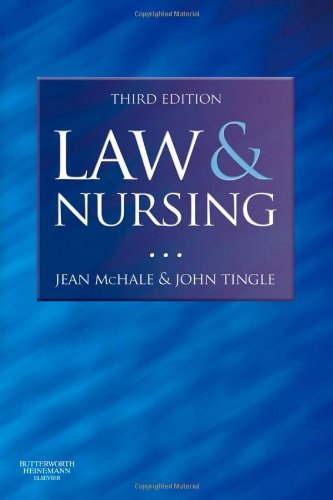 Law and Nursing, 3e: Jean McHale Professor