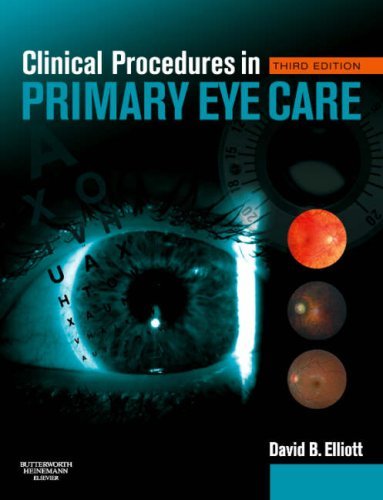 9780750688963: Clinical Procedures in Primary Eye Care, 3e