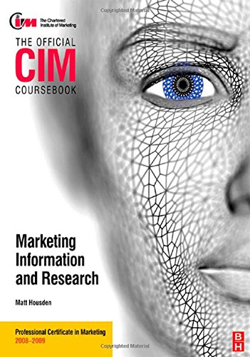 9780750689649: CIM Coursebook Market Information and Research (Official CIM Coursebook)