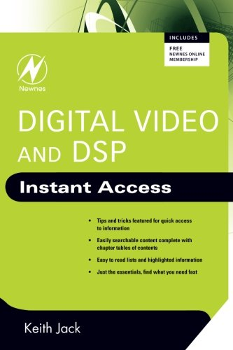 9780750689755: Digital Video and DSP: Instant Access