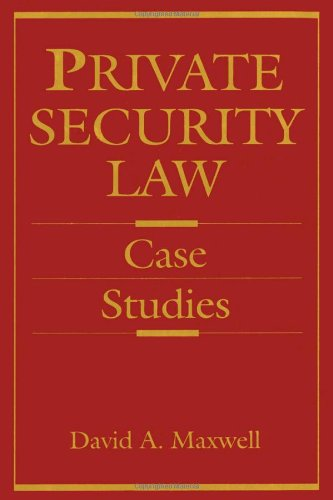 9780750690348: Private Security Law: Case Studies