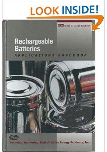 9780750692274: Rechargeable Batteries Applications Handbook (Edn Series for Design Engineers)