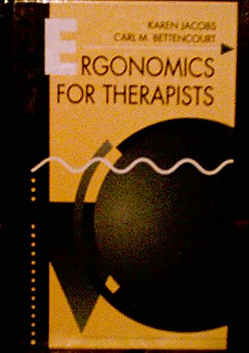 9780750695305: Ergonomics for Therapists