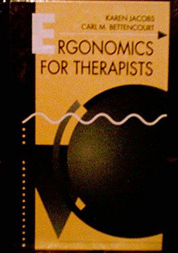 9780750695305: Ergonomics for Therapists