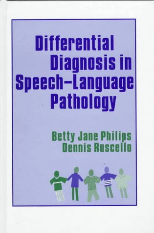 9780750696753: Differential Diagnosis in Speech-Language Pathology