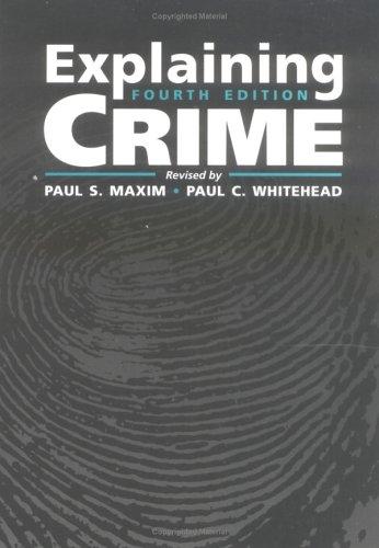 9780750697842: Explaining Crime