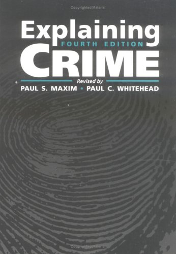 9780750697842: Explaining Crime, Fourth Edition
