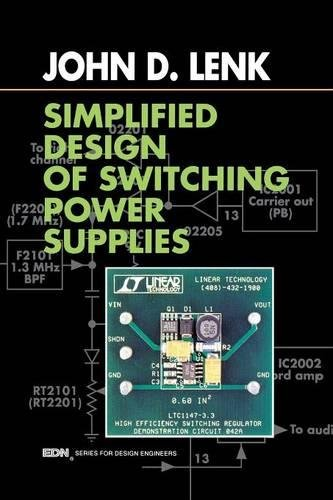 9780750698214: Simplified Design of Switching Power Supplies (EDN Series for Design Engineers)
