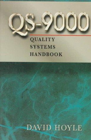9780750698610: Qs-9000 Quality Systems Handbook