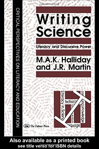 9780750700467: Writing Science: Literacy And Discursive Power
