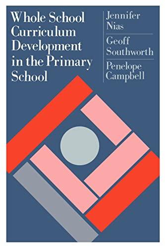 9780750700658: Whole School Curriculum Development In The Primary School