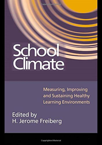 9780750706414: School Climate: Measuring, Improving and Sustaining Healthy Learning Environments