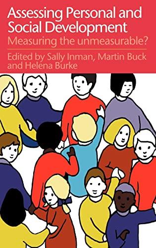 9780750707626: Assessing Children's Personal And Social Development: Measuring The Unmeasurable?