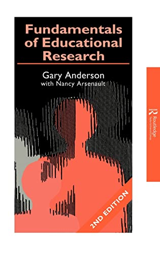 9780750708586: Fundamentals of Educational Research (Teachers' Library)