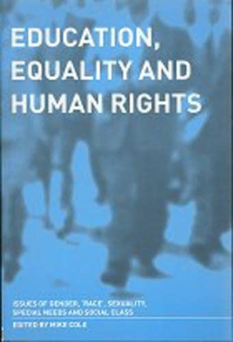 Education, Equality and Human Rights: Issues of