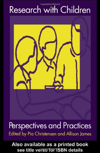 9780750709743: Research With Children: Perspectives and Practices