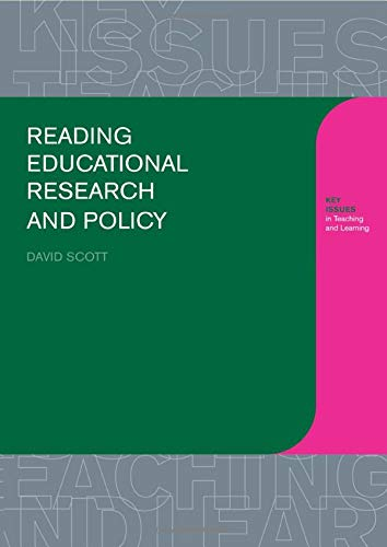 9780750709934: Reading Educational Research and Policy (Learning About Teaching)