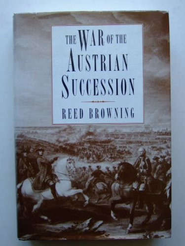 9780750905787: The War of the Austrian Succession