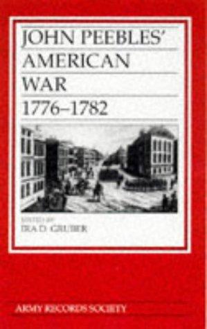 9780750917919: John Peebles' American War, 1776-82