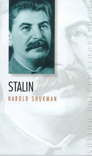 9780750918398: Stalin (Sutton Pocket Biographies)