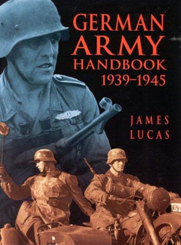 9780750924863: German Army Handbook 1939-1945