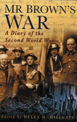 Mr Brown's War: Brown, Richard
