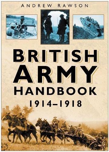9780750937450: British Army Handbook 1914-1918
