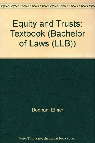 9780751003062: Equity and Trusts: Textbook (Bachelor of Laws (LLB))