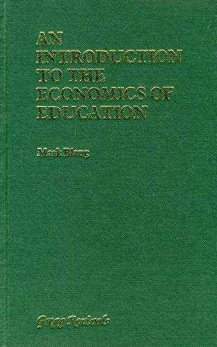 9780751200225: Introduction to the Economics of Education (Modern Revivals in Economics)
