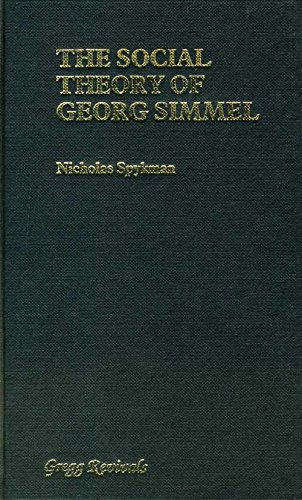 9780751200478: The Social Theory of Georg Simmel (Modern revivals in sociology)