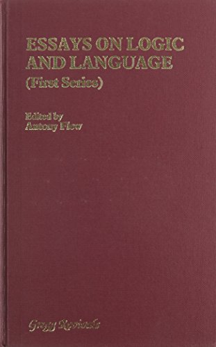 Essays on Logic and Language. (1st & 2nd series): 1st ser.: Gilbert Ryle, et al. 2nd ser.: J.L....