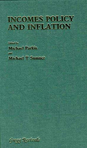9780751202069: Incomes Policy and Inflation (Studies in Inflation)