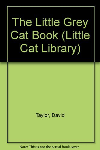 9780751300406: The Little Grey Cat Book (Little Cat Library) (English and Spanish Edition)