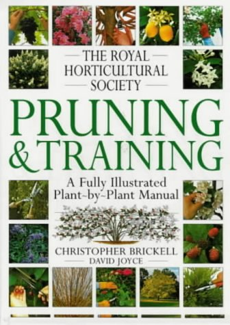 9780751302073: The Royal Horticultural Society Pruning and Training