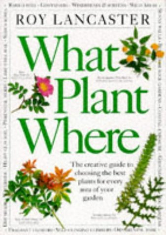 9780751302103: What Plant Where?