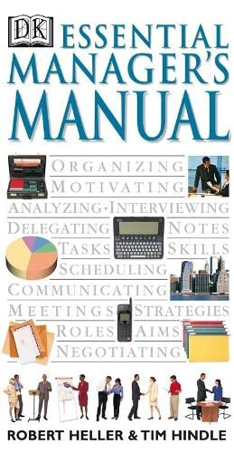 9780751304008: Essential Manager's Manual: Vol 1 (Essential Managers)